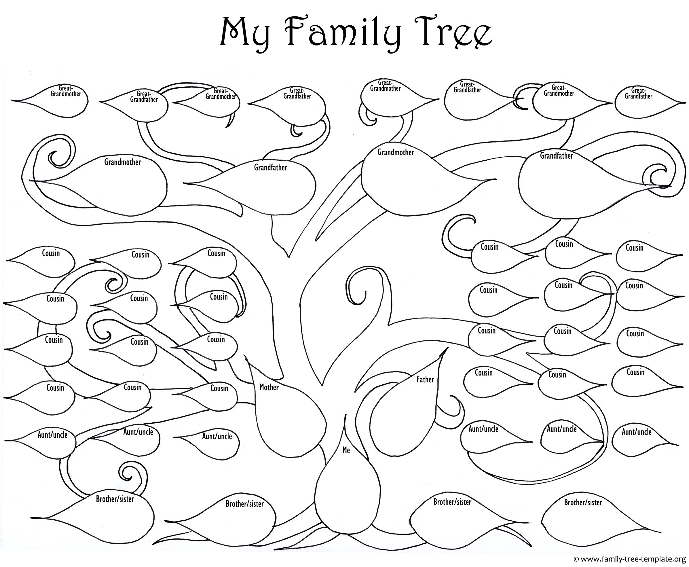 Large Tree Drawing