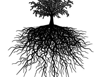 340x270 Tree With Roots Etsy