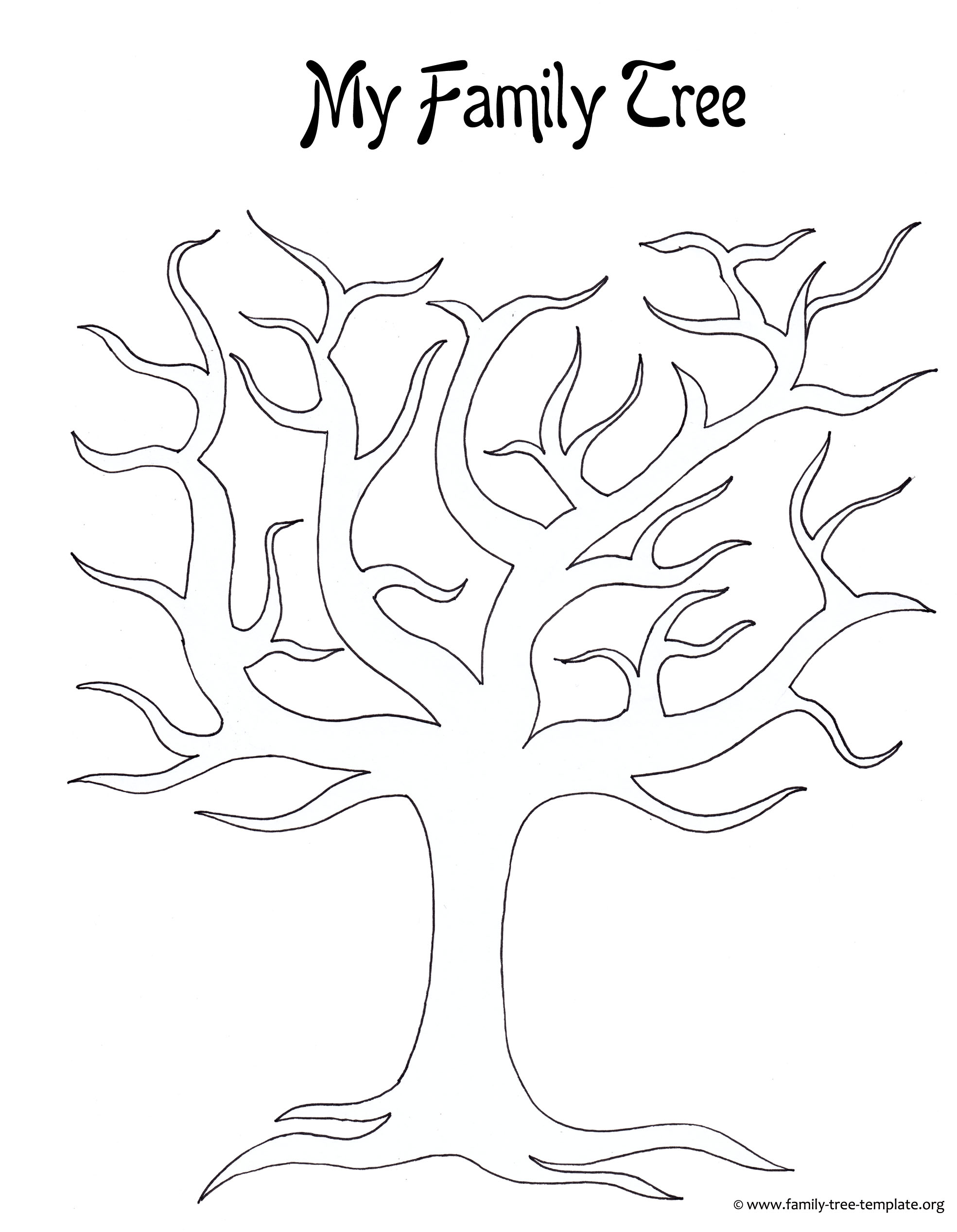 1969x2535 Printable Family Tree Template Generation Large Blank Home