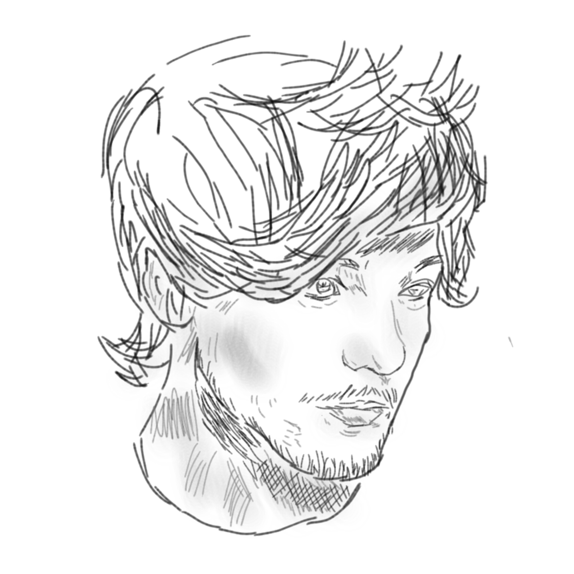 2000x2000 Drawing Louis Tomlinson Harry Styles Larry Stylinson