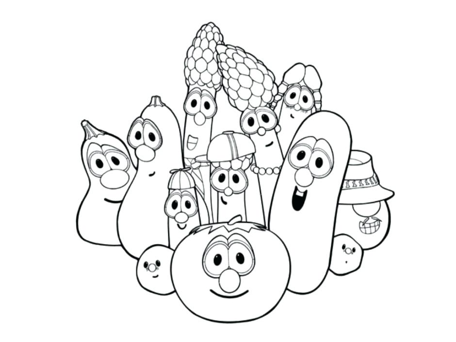 940x705 Larry Boy Coloring Page