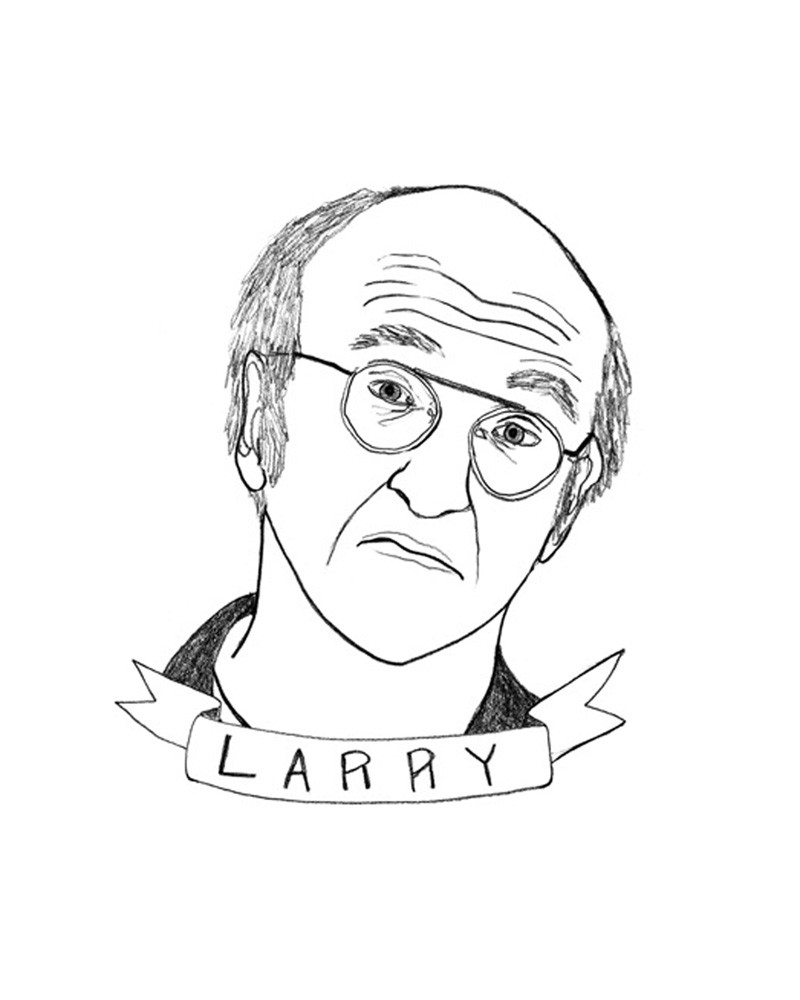 800x1000 Larry David By Deerdana Buy Exclusively On Tappan Collective +