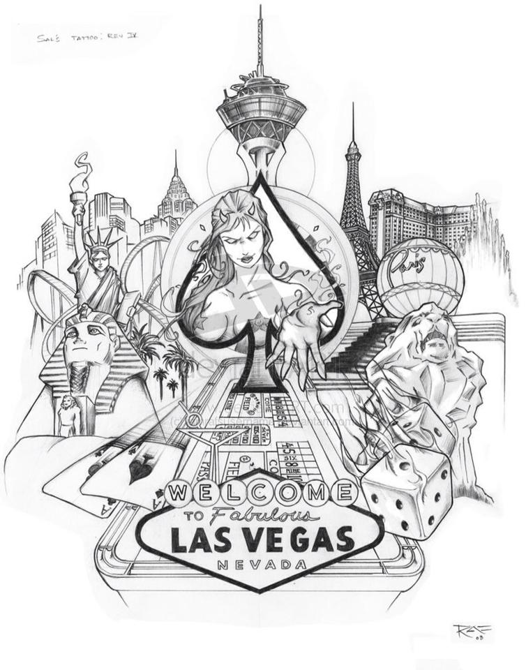 754x960 Las Vegas Design Inked Vegas, Tattoo And Vegas Tattoo