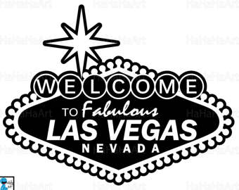 340x270 Las Vegas Sign Svg Etsy