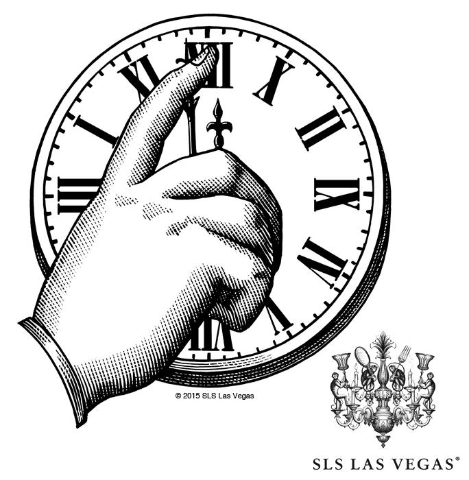 684x700 Sls Las Vegas Illustrations Created By Steven Noble On Behance