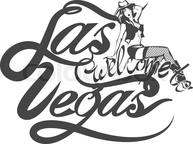 Las Vegas Sign Drawing At Getdrawingscom Free For Personal Use
