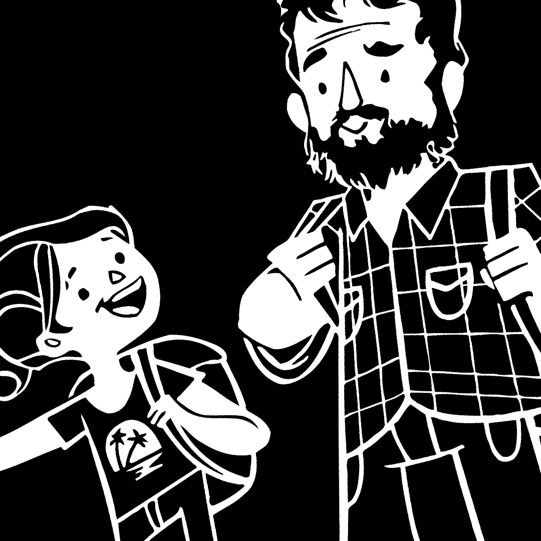 1080x1080 The Last Of Us Ellie And Joel T Shirt Nerdemia