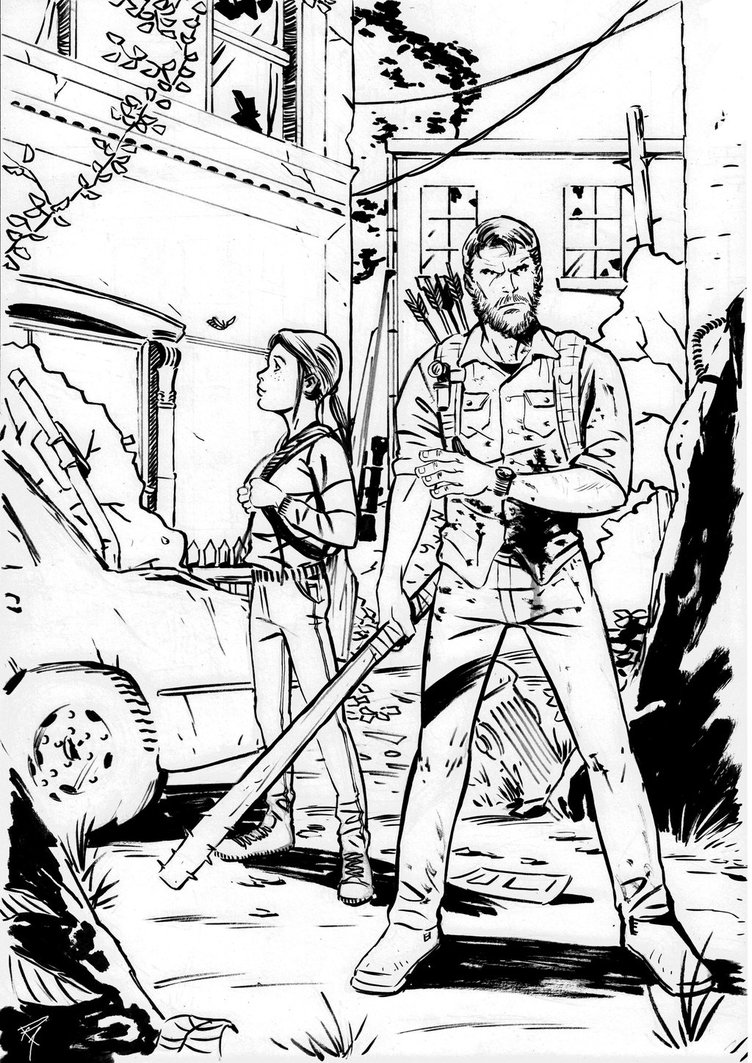 752x1063 2017 The Last Of Us Drawing By Bedtime143