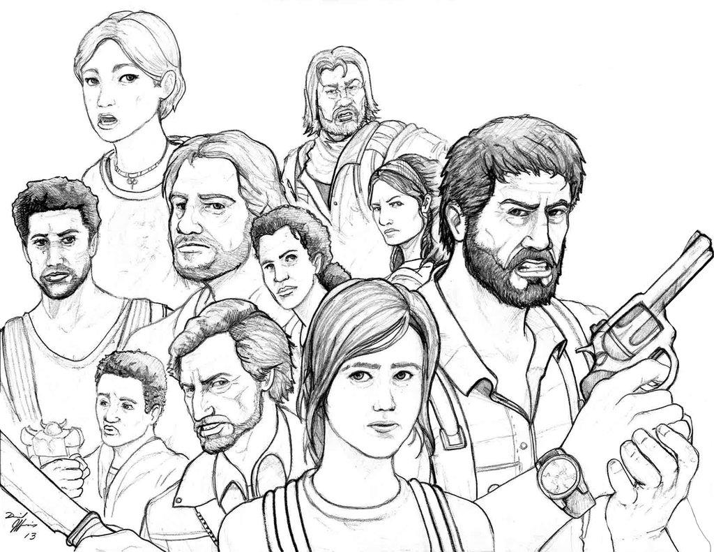 1024x791 The Last Of Us By Daniel Jeffries