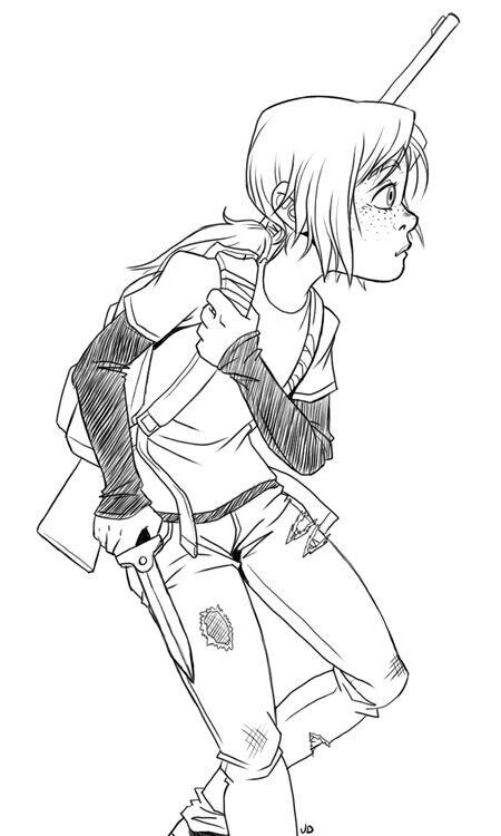 450x750 Ellie Sketch. The Last Of Us The Last Of Us