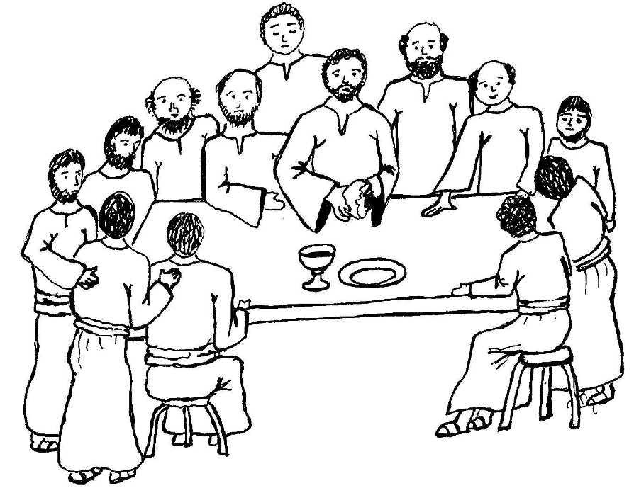 894x696 Last Supper