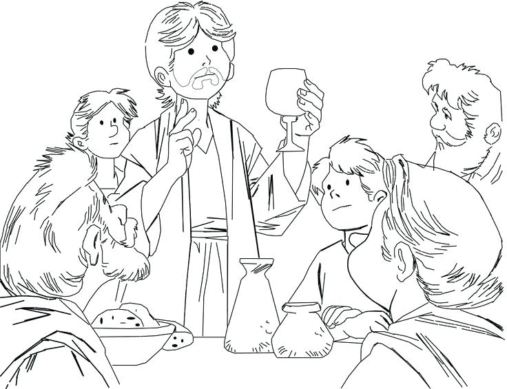 Last Supper Drawing at GetDrawings.com | Free for personal use Last ...