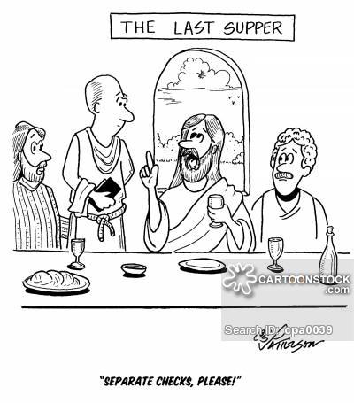 400x455 The Last Supper Cartoons And Comics