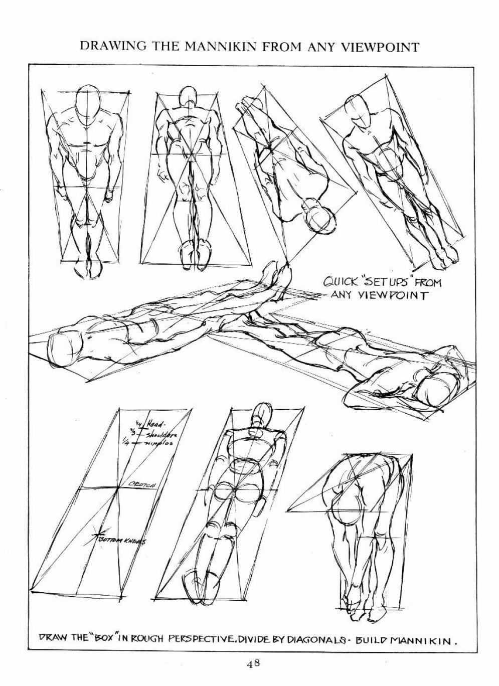 995x1368 Figure Drawing From Different Viewpoints. Gesture