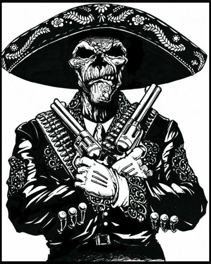 736x918 Pin By Skull Tastic On Skull Tastic Latino Art