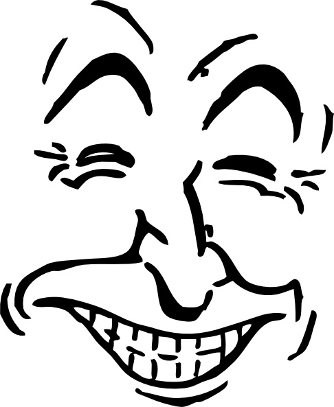 486x593 Laughing Face Clip Art Free Vector In Open Office Drawing Svg
