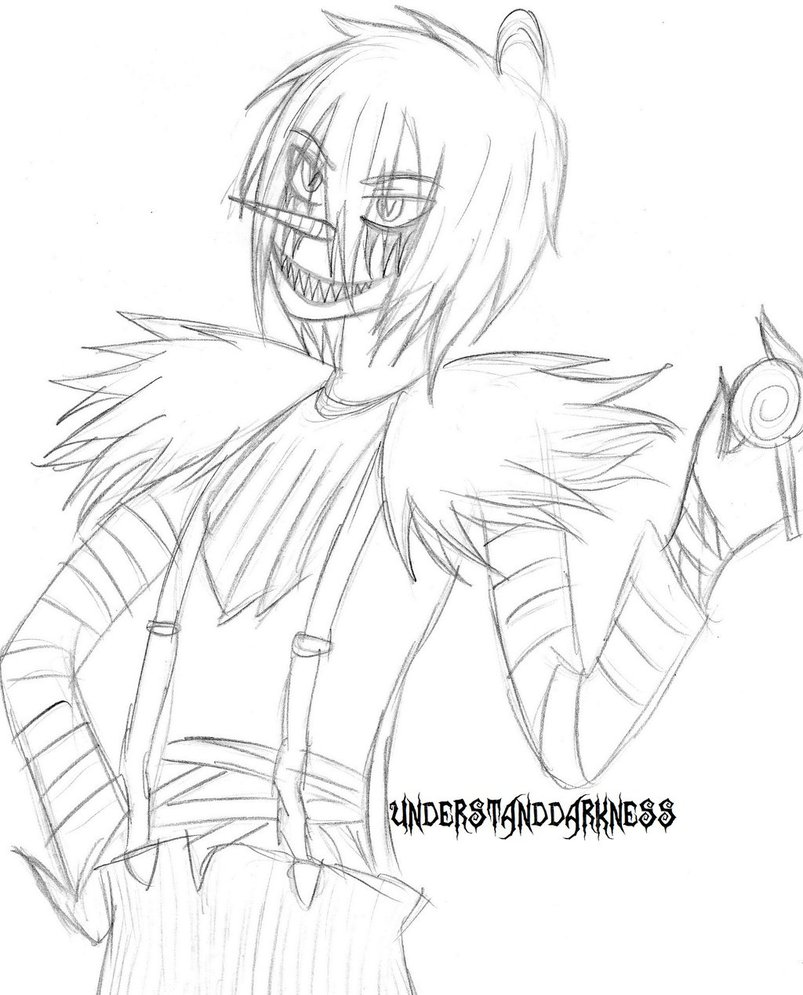 803x995 Laughing Jack Practice 1 By Understanddarkness