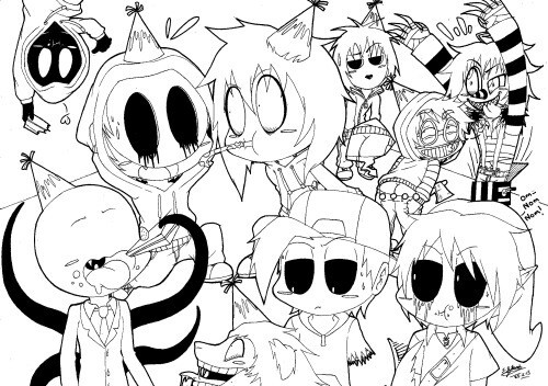 500x352 Image About Drawing In Creepypasta By Mimi On We Heart It