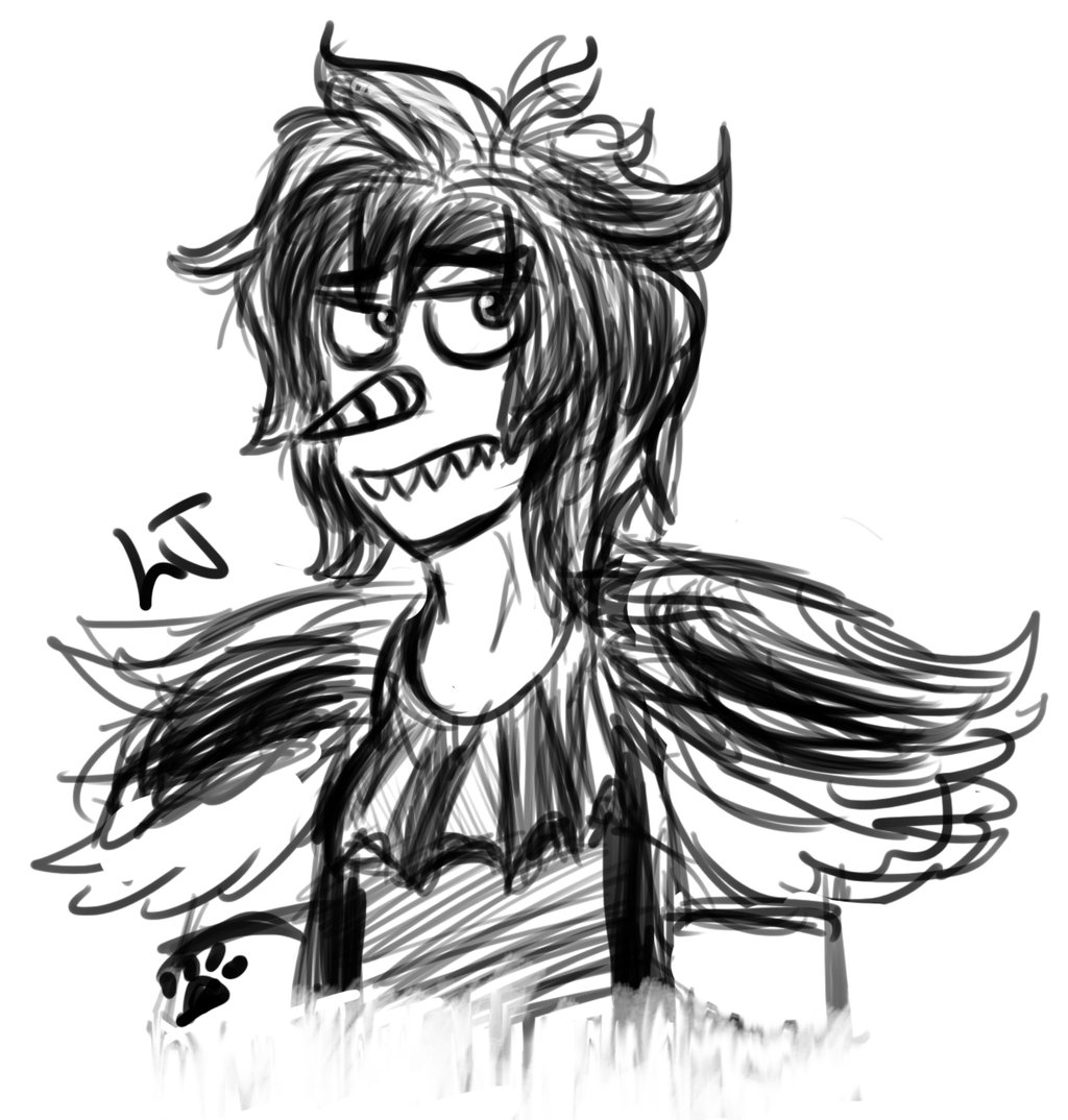 1024x1074 Laughing Jack Doodle By Springaling