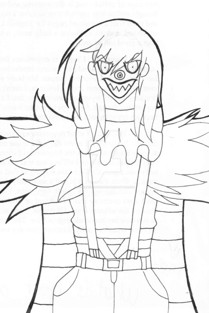730x1095 Laughing Jack (Lineart) By Opheliafauncewater