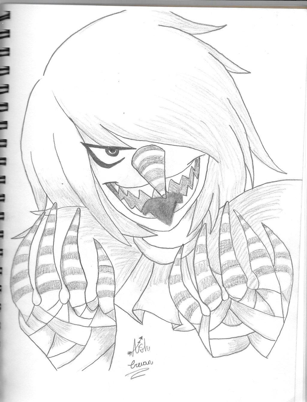 1024x1341 Laughing Jack By Kitsunifox
