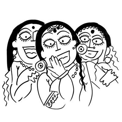 400x400 The Laughter Of Women Devdutt