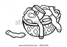 236x167 Laundry Basket Stock Vectors Amp Vector Clip Art Shutterstock