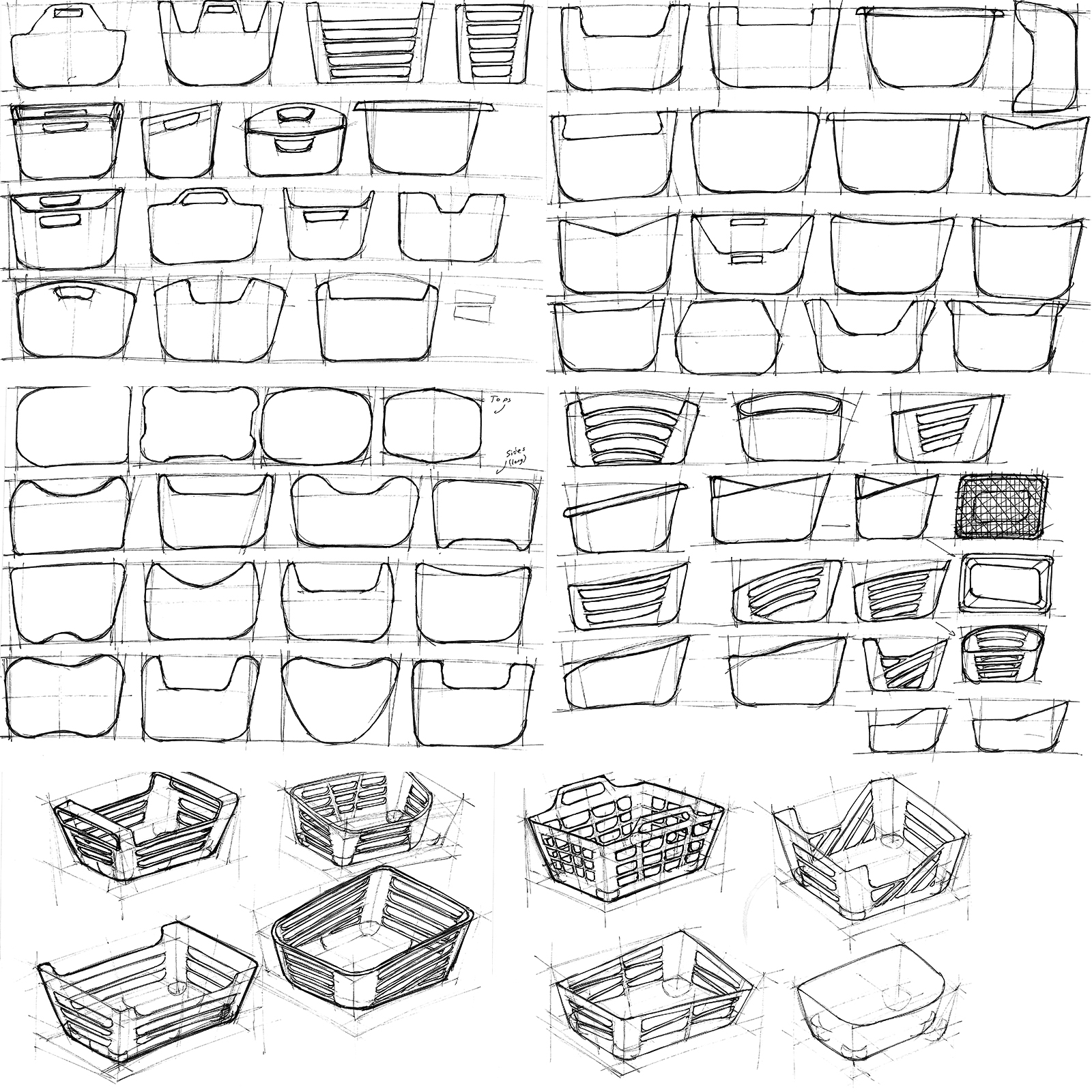 1600x1600 Opp Laundry Basket Amp Drawer Organizers By Jorge Gomez On Cad Crowd