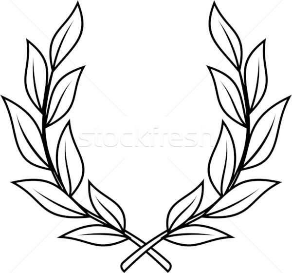 600x560 Laurel Wreath Vector Illustration Projects To Try