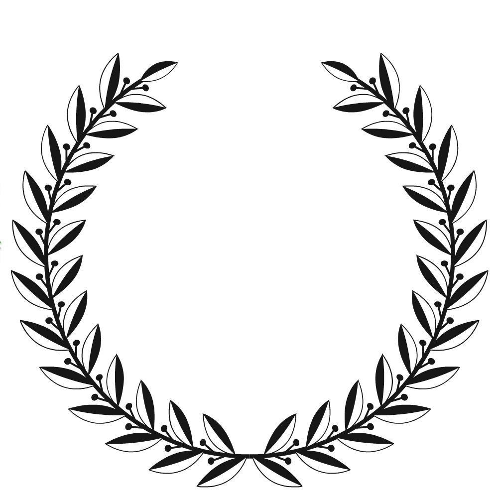 1000x1000 Amanda Rapp Design Free Printable Laurel Wreath + How To Make