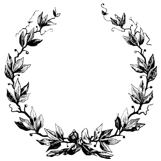 320x320 Ornate Oval Frame Drawing Vintage Oval Frame And Wreath