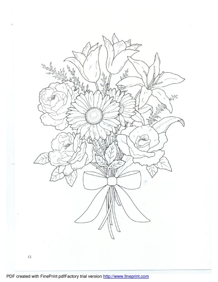 736x952 138 Best Flowers Images On Drawing Flowers, Painted