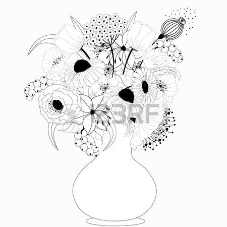 450x450 Black Flower Vase Images Amp Stock Pictures. Royalty Free Black