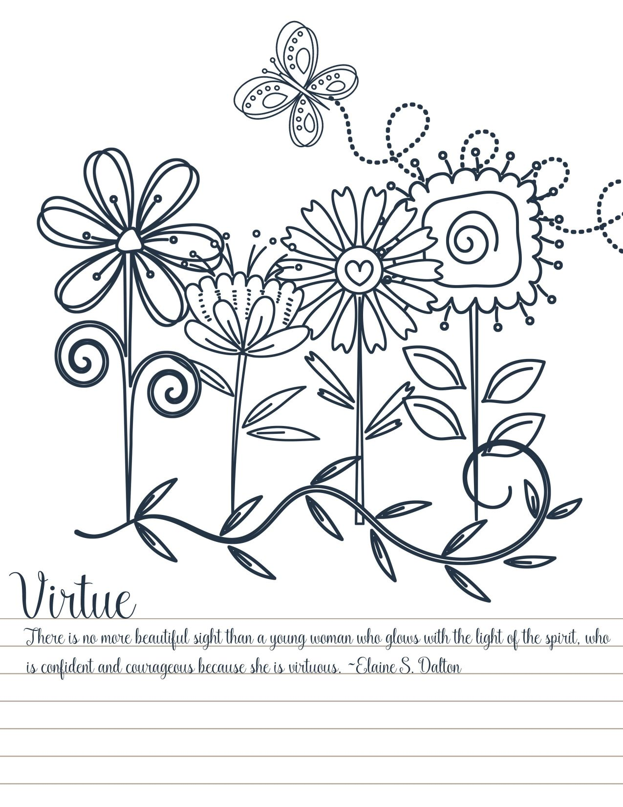 1275x1650 Marvelous Spring Flower Coloring Pages Coloringsuitecom