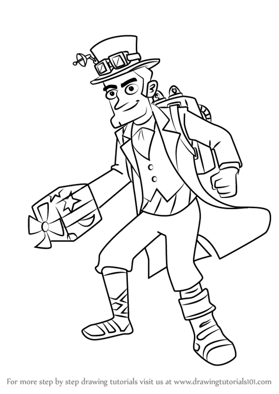 567x800 Learn How To Draw Dr. Zone From Milo Murphy's Law (Milo Murphy'S