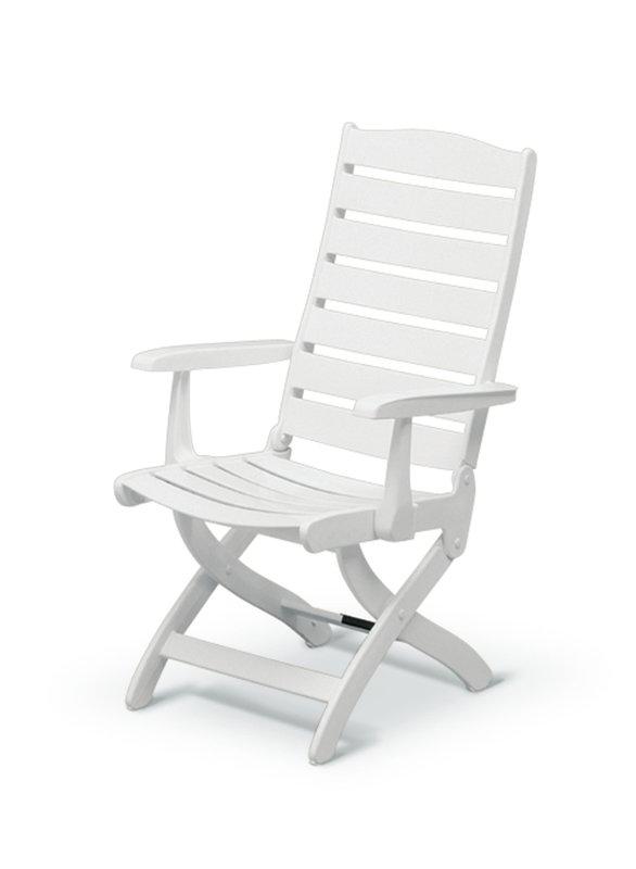 586x800 Kettler Caribic 16 Position Chair In White Amp Reviews Wayfair