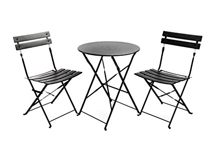 425x283 Finnhomy Slatted 3 Piece Outdoor Patio Furniture Sets