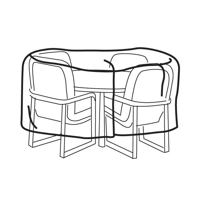 700x700 Table Amp Patio Set Covers Brookstone
