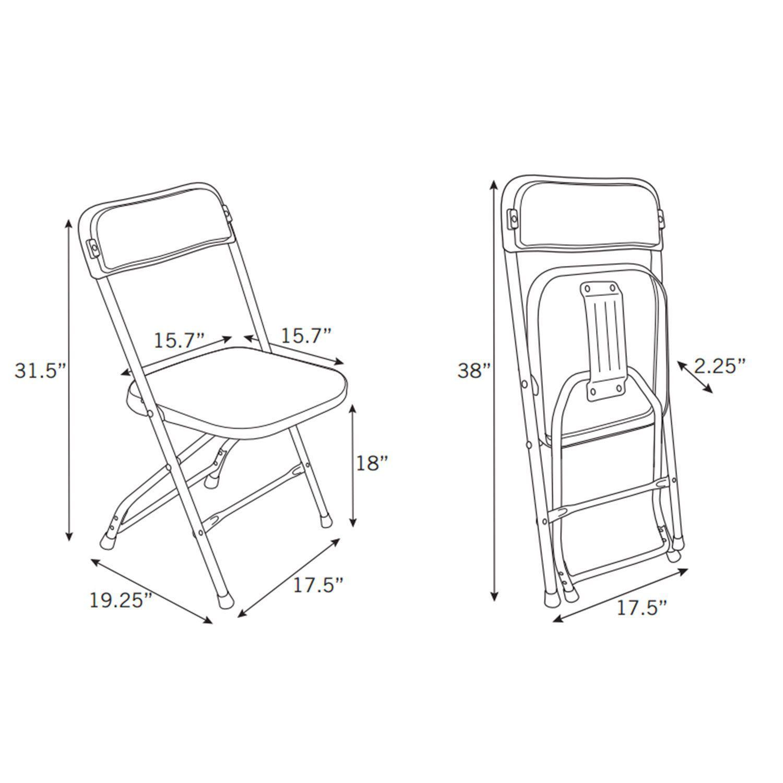 1500x1500 Chair Amazing Folding Chair Dimensions Samsonite Series