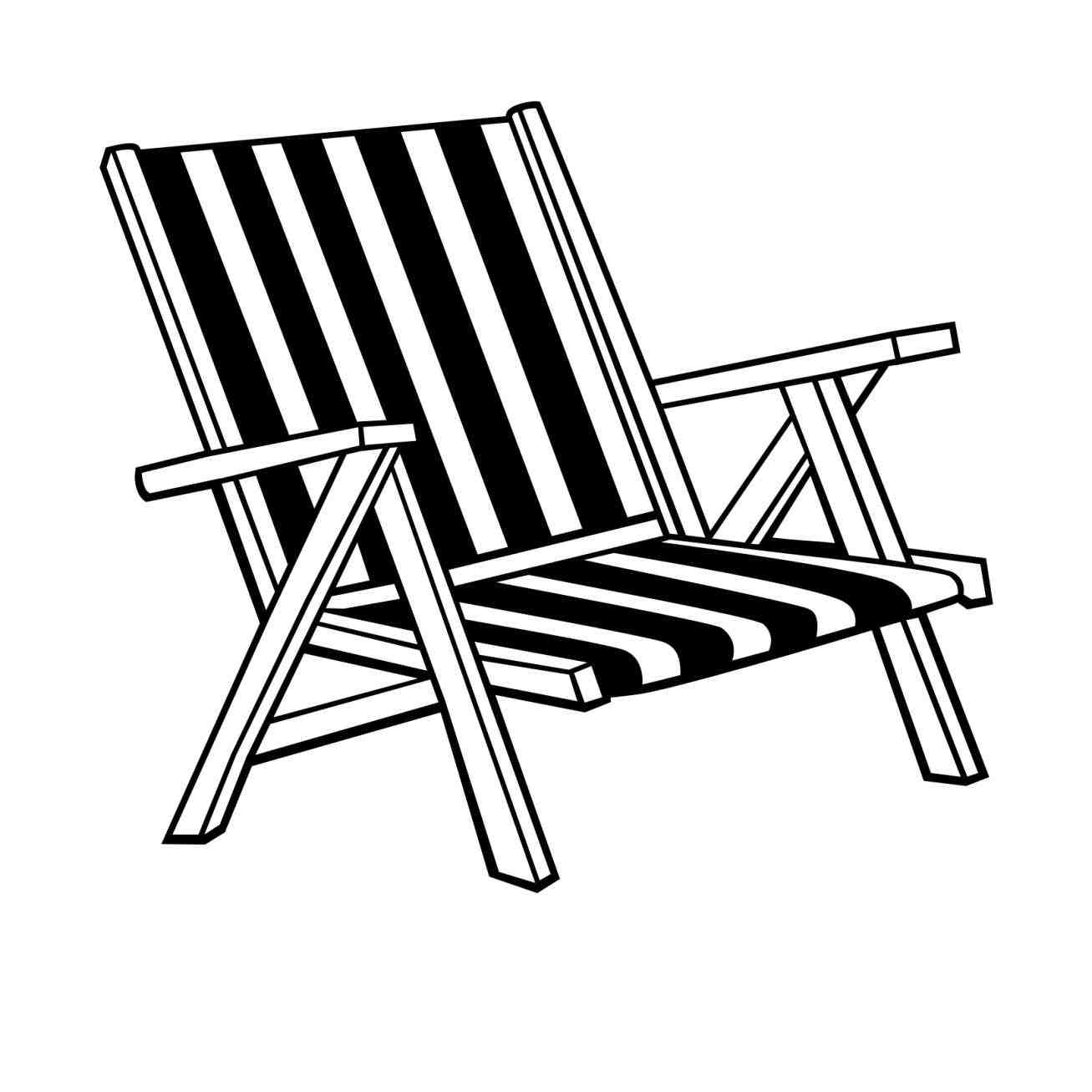 Lawn Chair Drawing At Getdrawings Com Free For Personal