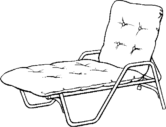 675x517 Chair Coloring Page