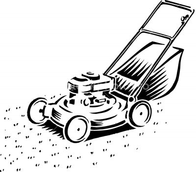 Lawn Mower Drawing