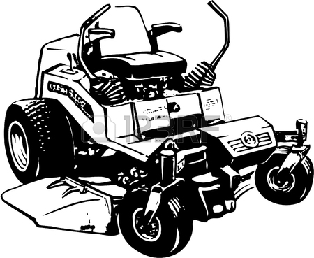 450x369 Riding Lawn Mower Stock Photos. Royalty Free Business Images