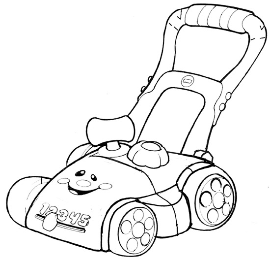 lawn mower drawing at getdrawings com
