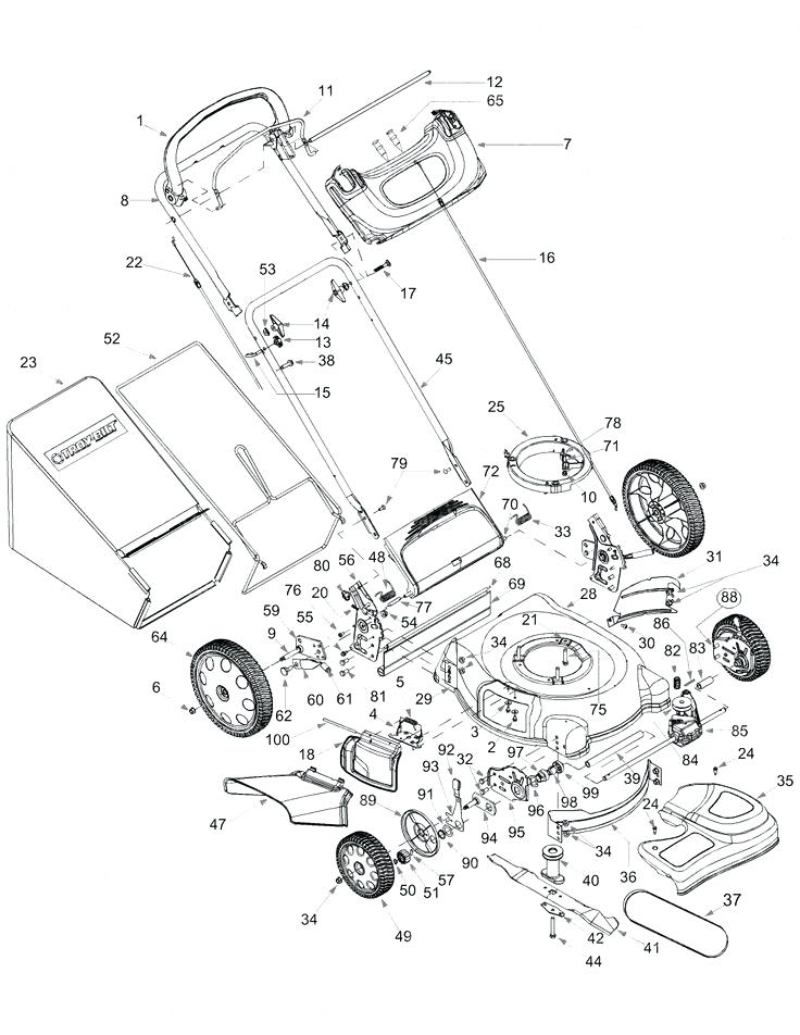 736x952 Briggs And Stratton Lawn Mower Parts Tree Owners Manual Tractor: Sewing Machine Parts Diagram At Downselot.com