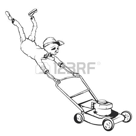 Lawnmower Drawing