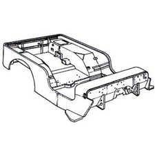 225x225 Body Kit, Mini Mb, For Use With Atv, Utv, Go Kart, Riding Lawn