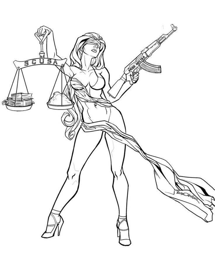 Lawyer Drawing