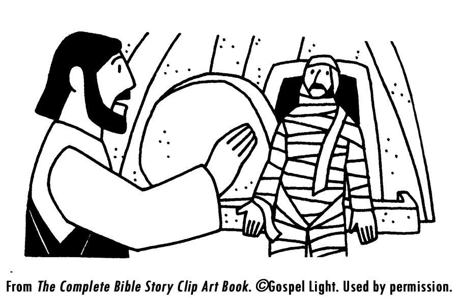 900x600 Jesus Raises Lazarus