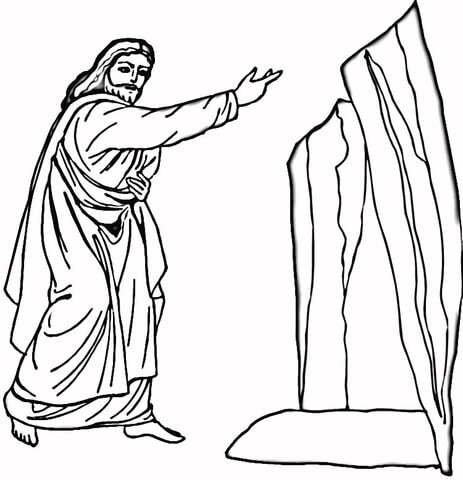 463x480 Lazarus Coloring Page Free Printable Coloring Pages